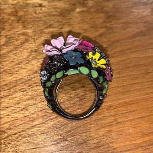 Juicy Couture Jewelry - Juicy Couture Cluster Flower Ring